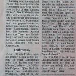 Fiffen Kanzen Ticken 2010 in der Münsterschen Zeitung
